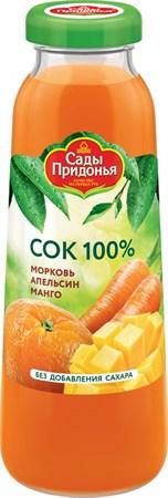 Сок морковь, апельсин, манго, 0,3л - фото 15244