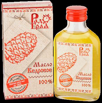 Масло кедрового ореха, 100мл, Радоград - фото 15248