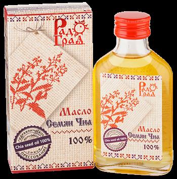 Масло чиа, 100мл, Радоград - фото 15251