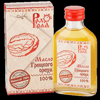 Масло грецкого ореха, 100мл, Радоград - фото 15252