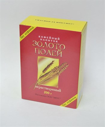 Кофейный напиток нерастворимый Золото полей, 200г - фото 15980