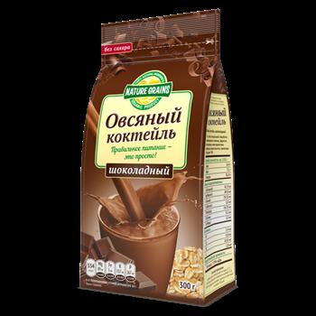 Коктейль овсяный шоколадный, 300г, КЗ - фото 16450