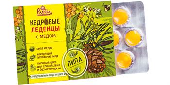 Леденцы с медом Липа, 6шт, Радоград - фото 17057