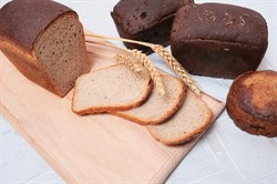 Хлеб бездрожжевой Льняной, 350г, Монастырский двор
