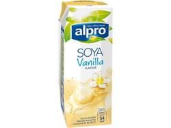 Напиток соевый ванильный, 250мл, Alpro