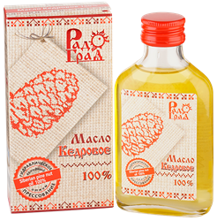 Масло кедрового ореха, 100мл, Радоград