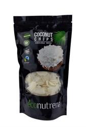 Чипсы кокосовые органические, 150г, Econutrena