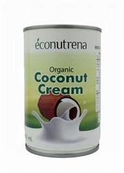 Сливки кокосовые органические 22%, 400мл, Econutrena