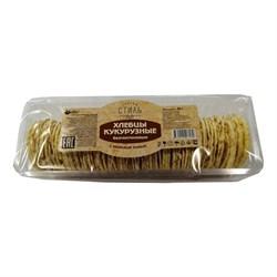 Хлебцы кукурузные с морской солью Тонкий стиль, 60г, Продпоставка