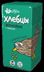 Хлебцы зерновые с тмином и морской солью, 60г, Продпоставка