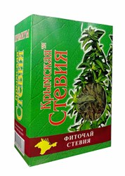 Сухой лист стевии, 50г, Крымская стевия