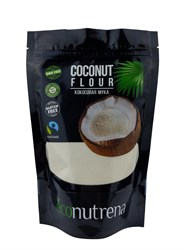 Мука кокосовая органическая, 500г, Econutrena