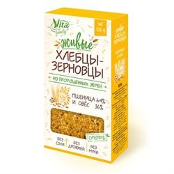 Живые хлебцы из пророщенных зерен, 120г, Вита фэмили