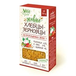 Живые хлебцы с аджикой, 120г, Вита фэмили