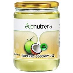 Масло кокосовое рафинированное, 500мл, Econutrena