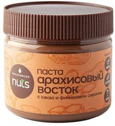 Паста арахисовая с какао и финиковым сиропом, 300 г, ВолкоМолко