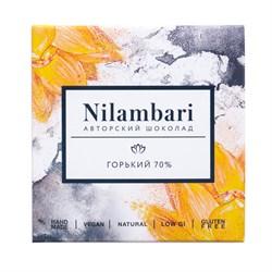 Шоколад горький 70%, 65 г, Nilambari