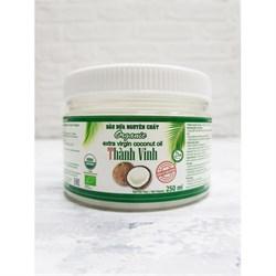 Масло кокосовое нерафинированное, 250мл, Вьеткоко