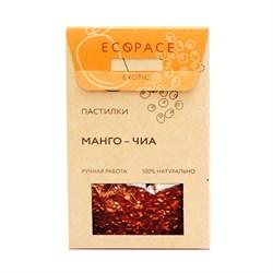 Пастилки Манго-чиа, 40г, Ecospace