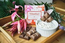 Шоколад на кэробе с ванилью, 65 г, Nilambari