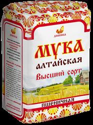 Мука пшеничная высший сорт, 2кг, Дивинка