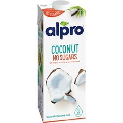 Напиток кокосовый без сахара, 1л, Alpro