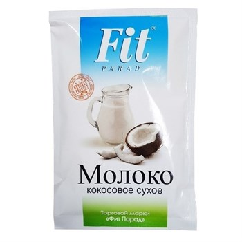Молоко кокосовое сухое, 35г, ФитПарад - фото 14597