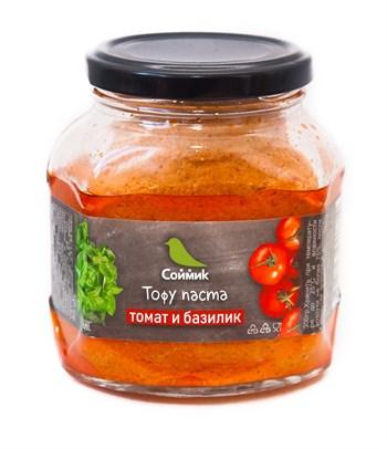 Тофу-паста томат и базилик, 300г, Соймик - фото 14639