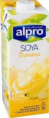 Напиток соевый банановый, 1л, Alpro - фото 14666