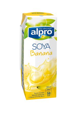 Напиток соевый банановый, 250мл, Alpro - фото 14668
