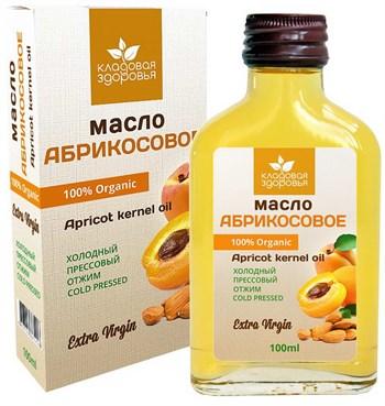 Масло абрикосовое, 100мл, Кладовая здоровья - фото 15114