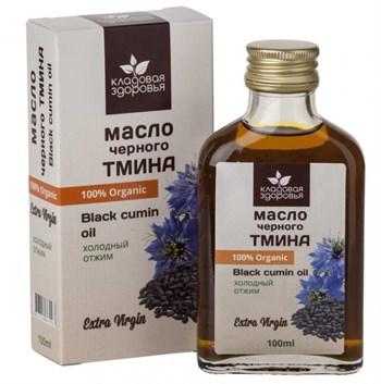 Масло черного тмина, 100мл, Кладовая здоровья - фото 15140