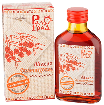 Масло облепиховое, 100мл, Радоград - фото 15253