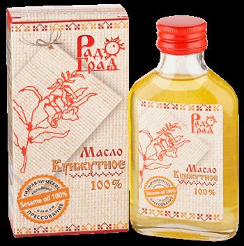 Масло кунжутное, 100мл, Радоград - фото 15255