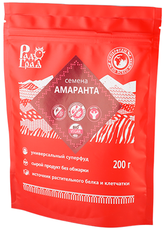 Семена амаранта, 200г, Радоград - фото 15274