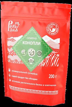 Семена конопли, 200г, Радоград - фото 15277