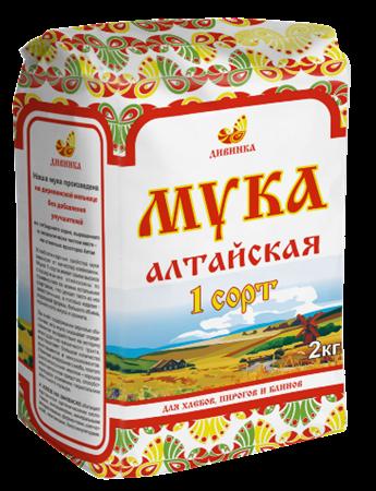 Мука пшеничная 1 сорт, 2кг, Дивинка - фото 15470