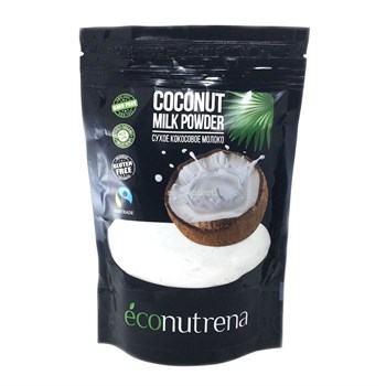 Молоко кокосовое сухое, 150г, Econutrena - фото 15549