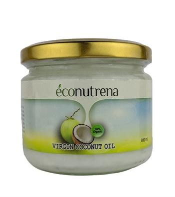 Масло кокосовое органическое, 300мл, Econutrena - фото 15564