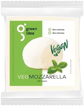 Сыр веганский Моцарелла, 200г. GreenIdea - фото 15573