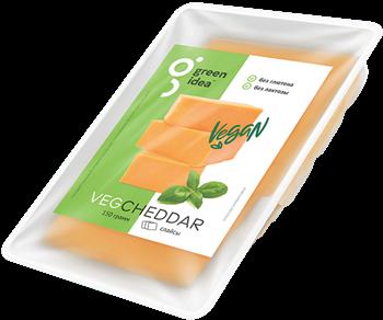 Сыр веганский Чеддар, 150г, GreenIdea - фото 15577
