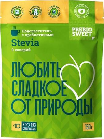 Сахарозаменитель стевия, 150г, Пребиосвит - фото 15677