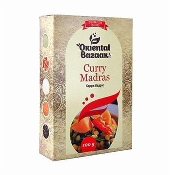 Смесь специй Карри мадрас Curry madras, 100 г, Шри Ганга - фото 16299