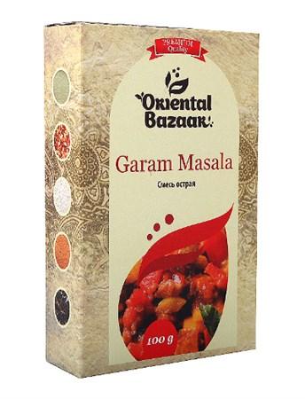 Смесь специй острая Garam masala, 100 г, Шри Ганга - фото 16300