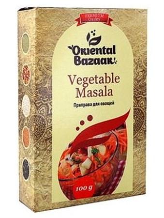 Смесь специй для овощей Vegetable masala, 100 г, Шри Ганга - фото 16302