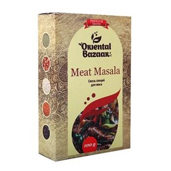 Смесь специй для мяса Meat masala, 100 г, Шри Ганга - фото 16307