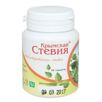 Стевия таблетки, 60табл, Крымская стевия - фото 16875