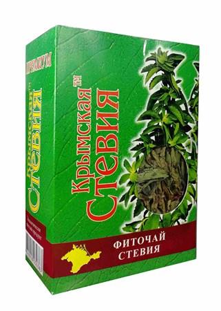 Сухой лист стевии, 25г, Крымская стевия - фото 16877