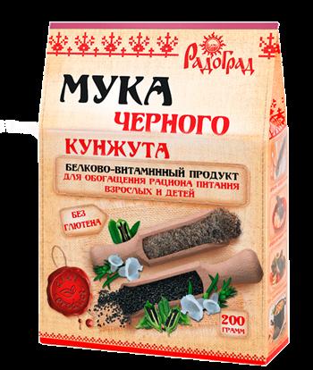 Мука кунжута черного, 200г, Радоград - фото 17319