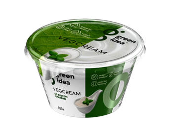 Крем со вкусом сметаны, 180г, GreenIdea - фото 17389